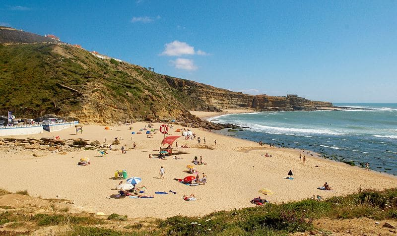 praia de ribeira dilhas - Praias perto de Lisboa